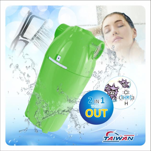除氯活膚快拆式沐浴過濾器 5