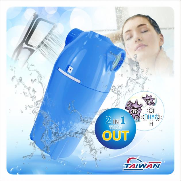 除氯活膚快拆式沐浴過濾器 4